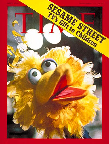 1970-11 Sesame Street Copyright Time Magazine | Time Magazine Covers 1923-1970