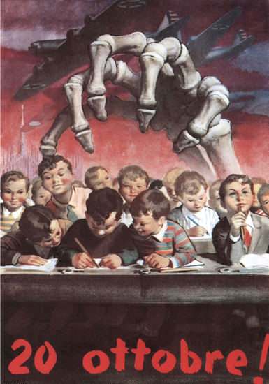 20 Ottobre Italy Italia | Vintage War Propaganda Posters 1891-1970