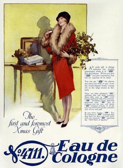 4711 Eau De Cologne Xmas Gift | Sex Appeal Vintage Ads and Covers 1891-1970