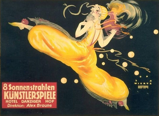 8 Sonnenstrahlen Kuenstlerspiele 1919 | Sex Appeal Vintage Ads and Covers 1891-1970