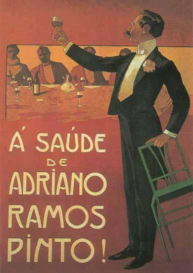 A Saude Ramos Pinto Porto | Vintage Ad and Cover Art 1891-1970