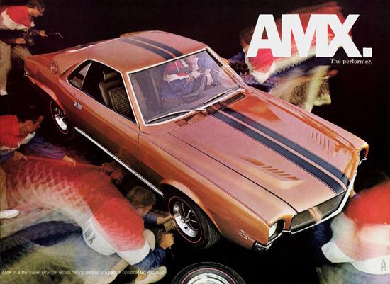 AMC AMX 1969 The Performer | Vintage Cars 1891-1970