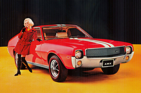 AMC American Motors AMX 1968 | Sex Appeal Vintage Ads and Covers 1891-1970