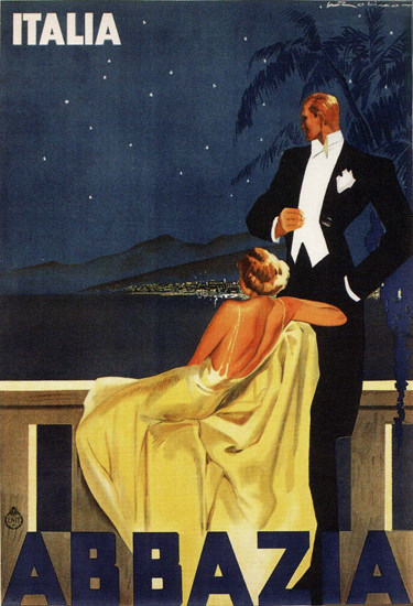 Abbazia 1937 Walter Molino Italia | Sex Appeal Vintage Ads and Covers 1891-1970