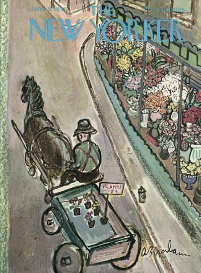 Abe Birnbaum The New Yorker 1945_06_09 Copyright | The New Yorker Graphic Art Covers 1925-1945
