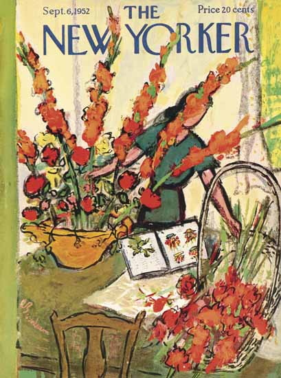 Abe Birnbaum The New Yorker 1952_09_06 Copyright | The New Yorker Graphic Art Covers 1946-1970