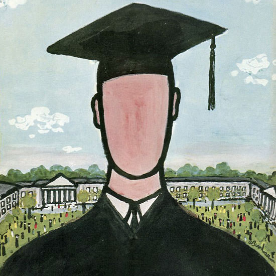 Abe Birnbaum The New Yorker 1959_05_30 Copyright crop | Best of 1950s Ad and Cover Art