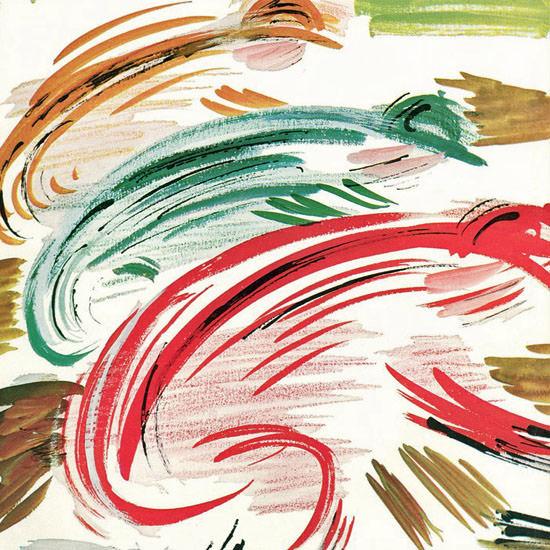 Abe Birnbaum The New Yorker 1961_04_22 Copyright crop | Best of Vintage Cover Art 1900-1970