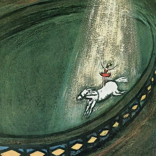 Abe Birnbaum The New Yorker 1962_04_07 Copyright crop | Best of Vintage Cover Art 1900-1970