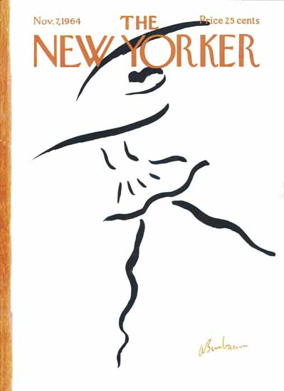 Abe Birnbaum The New Yorker 1964_11_07 Copyright   The New Yorker Graphic Art Covers 1946-1970