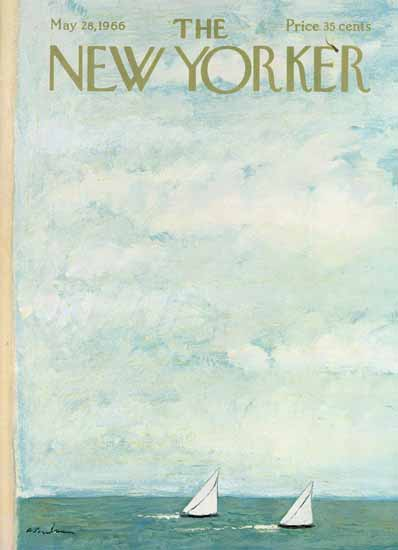 Abe Birnbaum The New Yorker 1966_05_28 Copyright | The New Yorker Graphic Art Covers 1946-1970