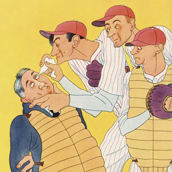 Abner Dean The New Yorker 1933_09_23 Copyright crop | Best of Vintage Cover Art 1900-1970