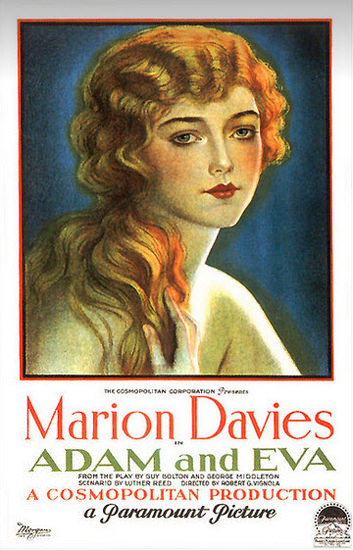 Adam And Eva Marion Davies Movie 1923 | Sex Appeal Vintage Ads and Covers 1891-1970