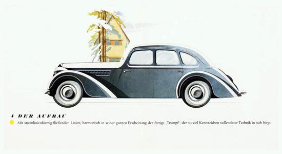 Adler Trumpf 1-7 Liter 4 Door Sedan 1936 | Vintage Cars 1891-1970