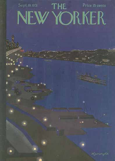 Adolph Kronengold The New Yorker 1931_09_19 Copyright | The New Yorker Graphic Art Covers 1925-1945