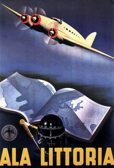 Ala Littoria 1939 | Vintage Travel Posters 1891-1970