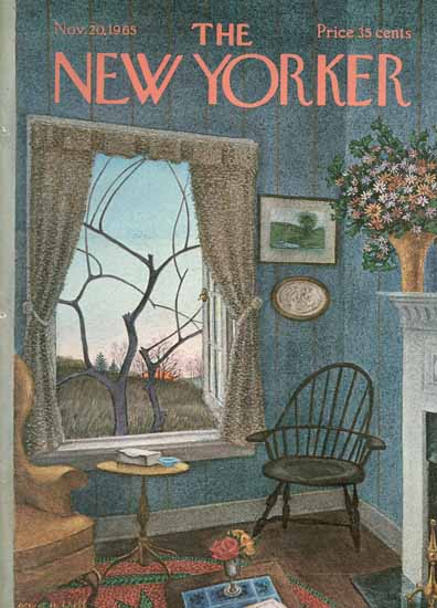 Albert Hubbell The New Yorker 1965_11_20 Copyright | The New Yorker Graphic Art Covers 1946-1970