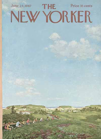 Albert Hubbell The New Yorker 1967_06_24 Copyright   The New Yorker Graphic Art Covers 1946-1970