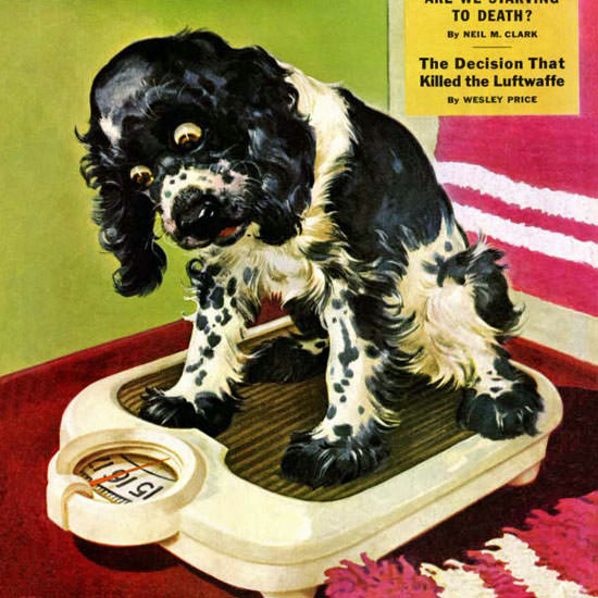 Albert Staehle Butch Saturday Evening Post 1945_09_01 Copyright crop | Best of Vintage Cover Art 1900-1970