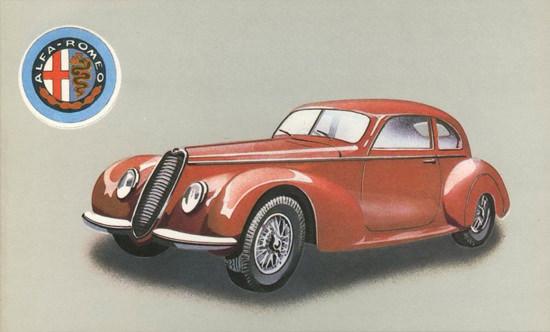 Alfa Romeo 6C 2500 Sport 1939 | Vintage Cars 1891-1970
