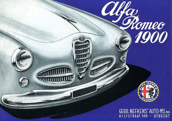 Alfa Romeo Utrecht 1955 Netherlands | Vintage Cars 1891-1970