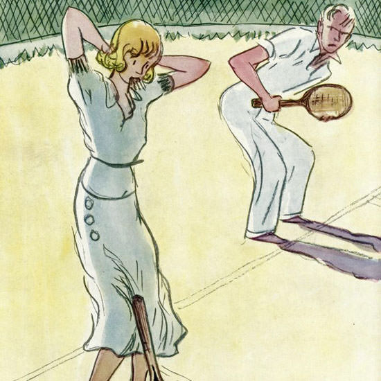 Alice Harvey The New Yorker 1933_09_09 Copyright crop | Best of Vintage Cover Art 1900-1970