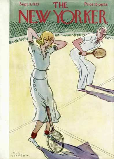 Alice Harvey The New Yorker 1933_09_09 Copyright | The New Yorker Graphic Art Covers 1925-1945