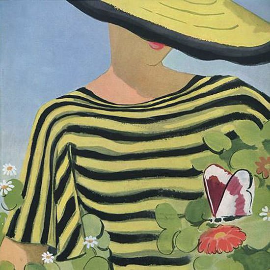 Alix Zeilinger Vogue Cover 1934-05-15 Copyright crop | Best of Vintage Cover Art 1900-1970