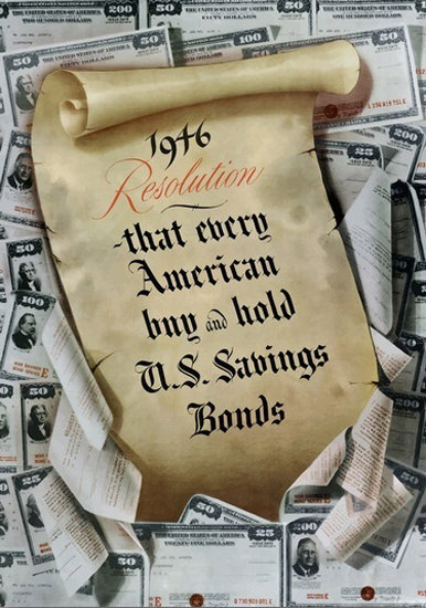 American Buy And Hold US Savings Bonds 1946 | Vintage War Propaganda Posters 1891-1970