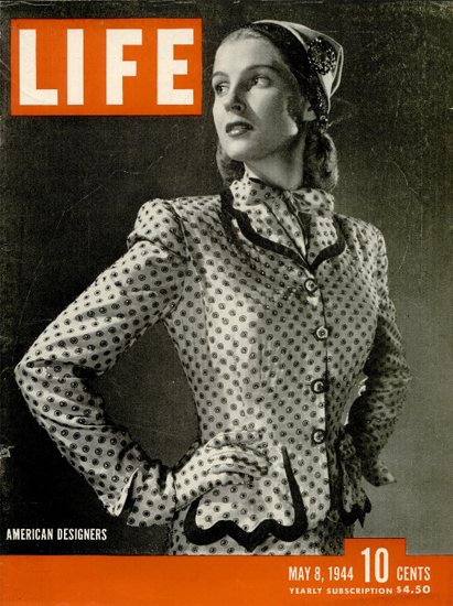 American Designers 8 May 1944 Copyright Life Magazine | Life Magazine BW Photo Covers 1936-1970