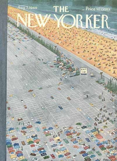 Anatol Kovarsky The New Yorker 1969_08_02 Copyright | The New Yorker Graphic Art Covers 1946-1970