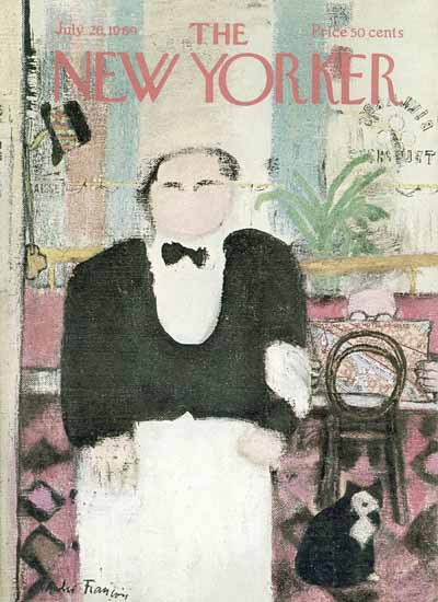 Andre Francois The New Yorker 1969_07_26 Copyright   The New Yorker Graphic Art Covers 1946-1970