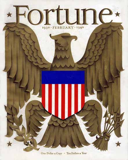 Antonio Petruccelli Fortune Magazine February 1940 Copyright | Fortune Magazine Graphic Art Covers 1930-1959