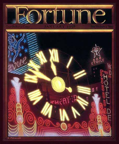 Antonio Petruccelli Fortune Magazine Janaury 1938 Copyright | Fortune Magazine Graphic Art Covers 1930-1959