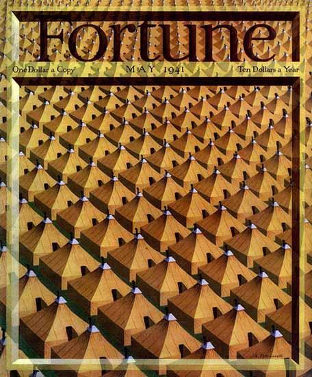 Antonio Petruccelli Fortune Magazine May 1941 Copyright | Fortune Magazine Graphic Art Covers 1930-1959