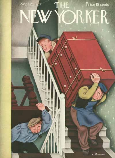 Antonio Petruccelli The New Yorker 1935_09_28 Copyright | The New Yorker Graphic Art Covers 1925-1945