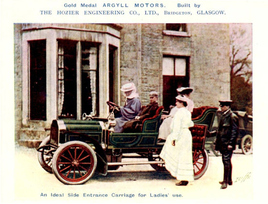 Argyll 1905 Ideal Carriage For Ladies Hozier | Vintage Cars 1891-1970