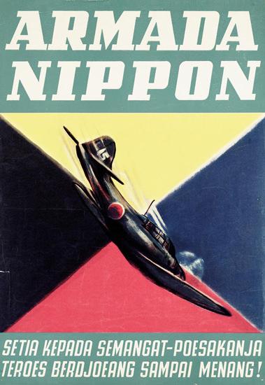 Armada Nippon Japan | Vintage War Propaganda Posters 1891-1970