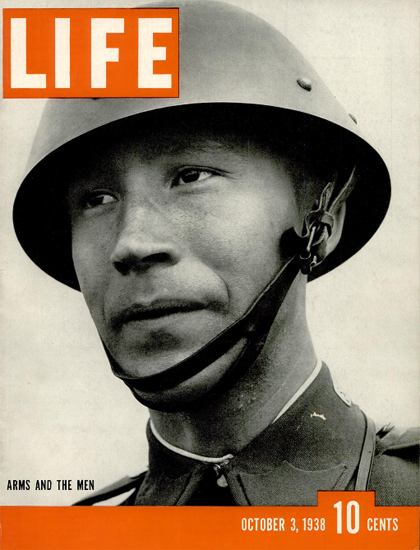Arms and the Men 3 Oct 1938 Copyright Life Magazine | Life Magazine BW Photo Covers 1936-1970
