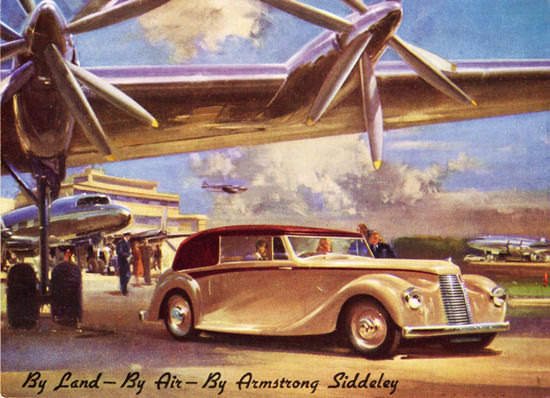 Armstrong Siddeley Hurricane 1946 | Vintage Cars 1891-1970