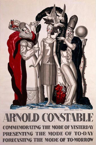 Arnold Constable Mode Of TomorrowJean Dupas | Vintage Ad and Cover Art 1891-1970