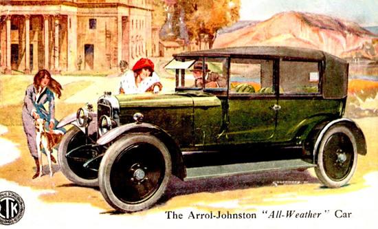 Arrol Johnston All Weather Car 1920 | Vintage Cars 1891-1970
