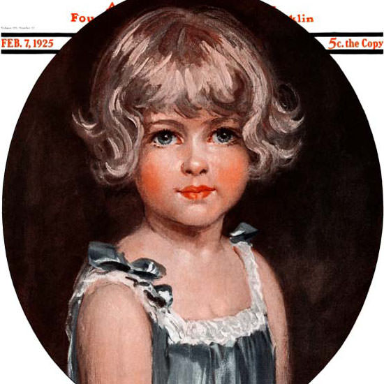 Arthur Garratt Artist Saturday Evening Post 1925_02_07 Copyright crop | Best of Vintage Cover Art 1900-1970