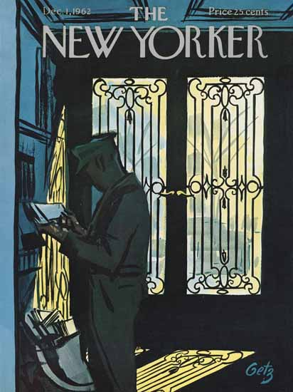 Arthur Getz The New Yorker 1962_12_01 Copyright | The New Yorker Graphic Art Covers 1946-1970