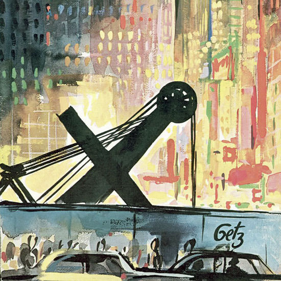 Arthur Getz The New Yorker 1964_04_11 Copyright crop | Best of Vintage Cover Art 1900-1970