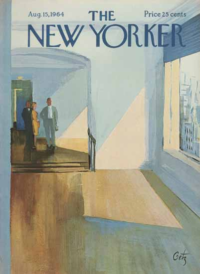Arthur Getz The New Yorker 1964_08_15 Copyright | The New Yorker Graphic Art Covers 1946-1970