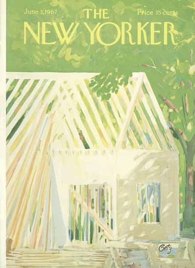 Arthur Getz The New Yorker 1967_06_03 Copyright   The New Yorker Graphic Art Covers 1946-1970