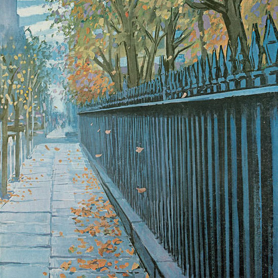 Arthur Getz The New Yorker 1968_10_19 Copyright crop | Best of Vintage Cover Art 1900-1970