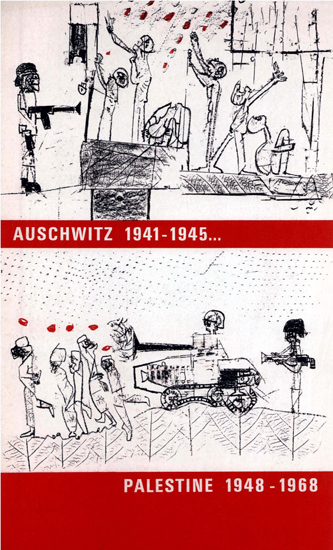 Auschwitz 1941-1945 Palestine 1948-1968   Vintage War Propaganda Posters 1891-1970