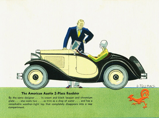 Austin American 2 Place Roadster 1930 | Vintage Cars 1891-1970